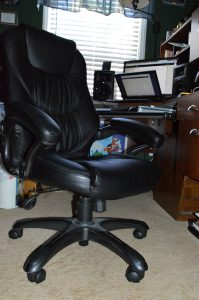 My super awesome extra comfy uber soft studio chair!