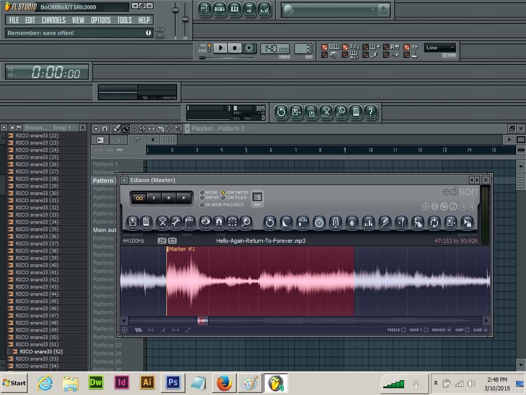 fl studio how to change sample pitch