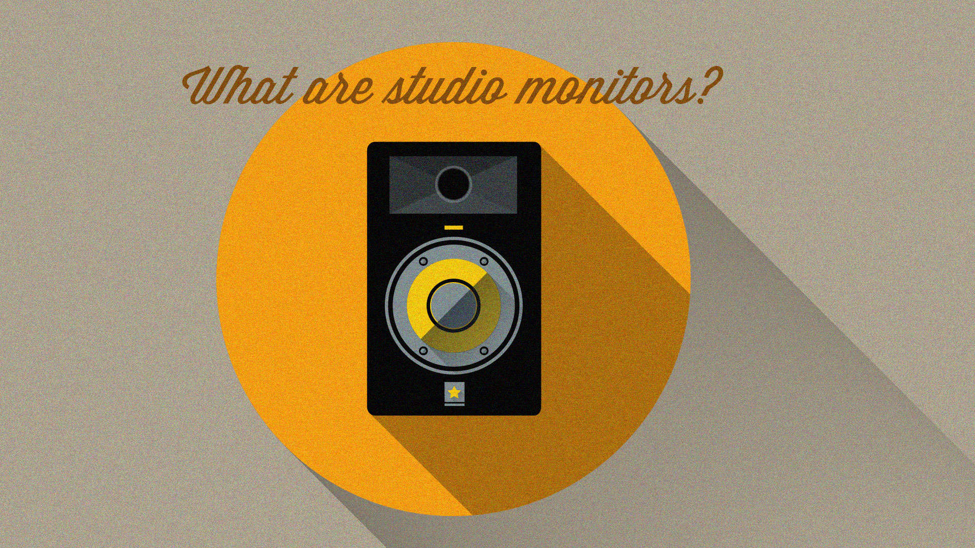 What are Studio Monitors?