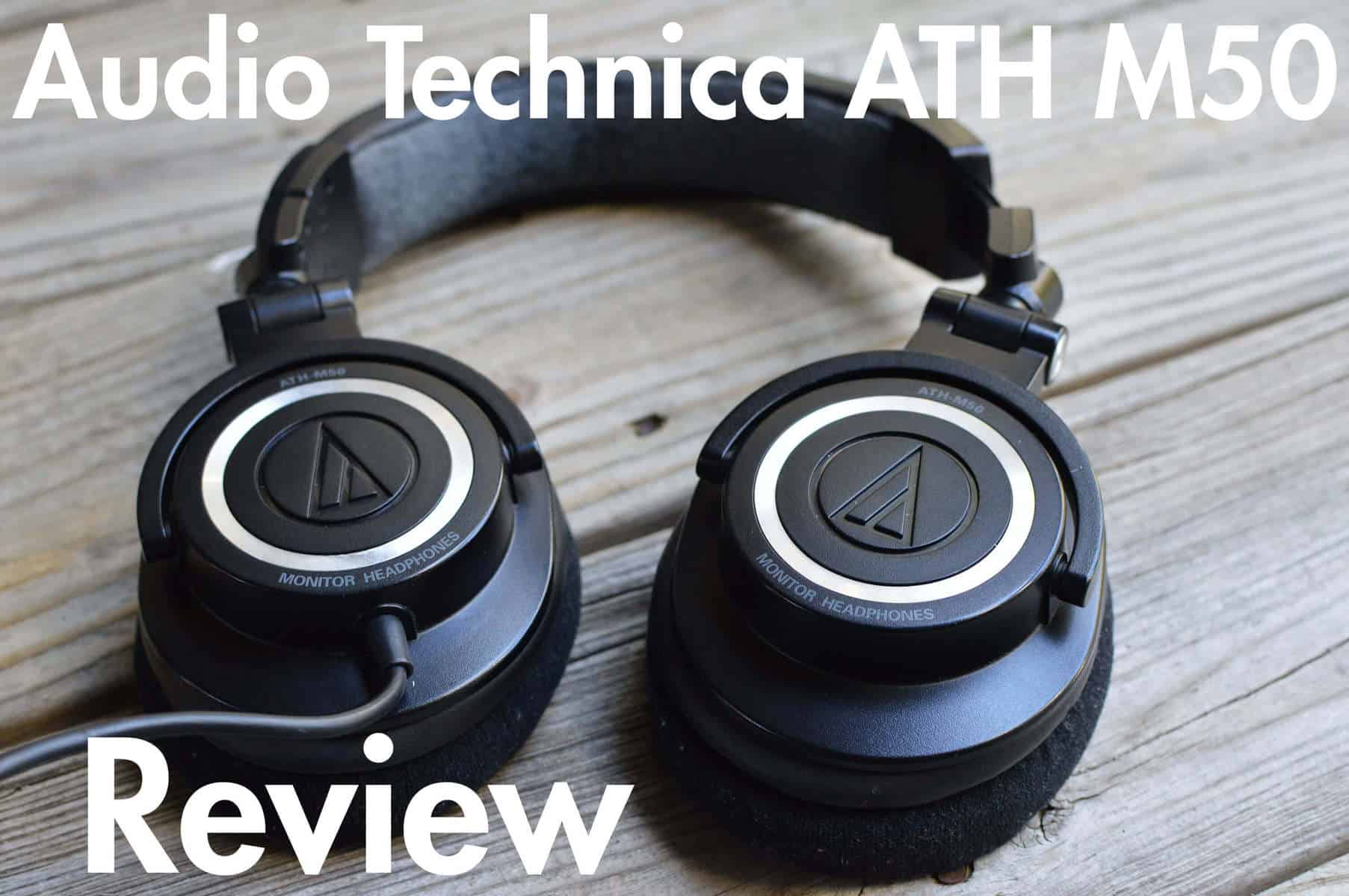 0fcf18a7555 Audio Technica ATH M50 Review | Longevity!! - Home Studio Basics