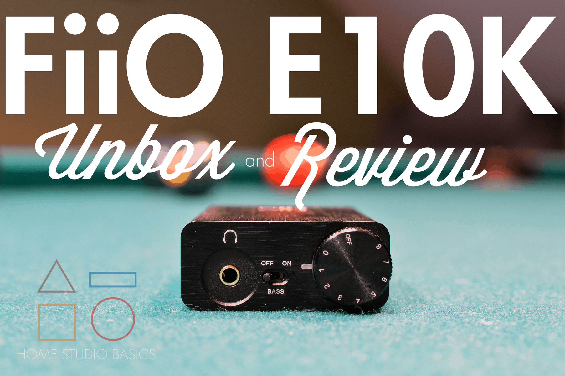 FiiO E10K USB DAC Review