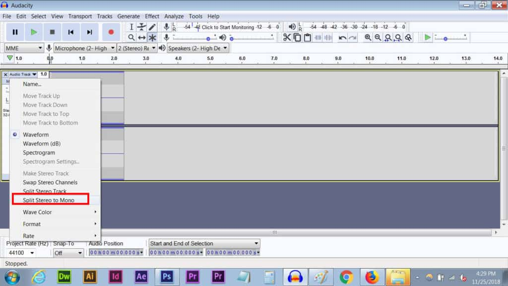 How to Record in Audacity