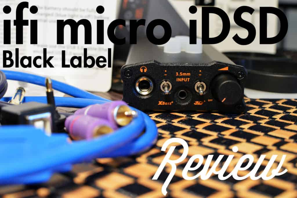This is an image of Adorable Ifi Micro Idsd Black Label Specs