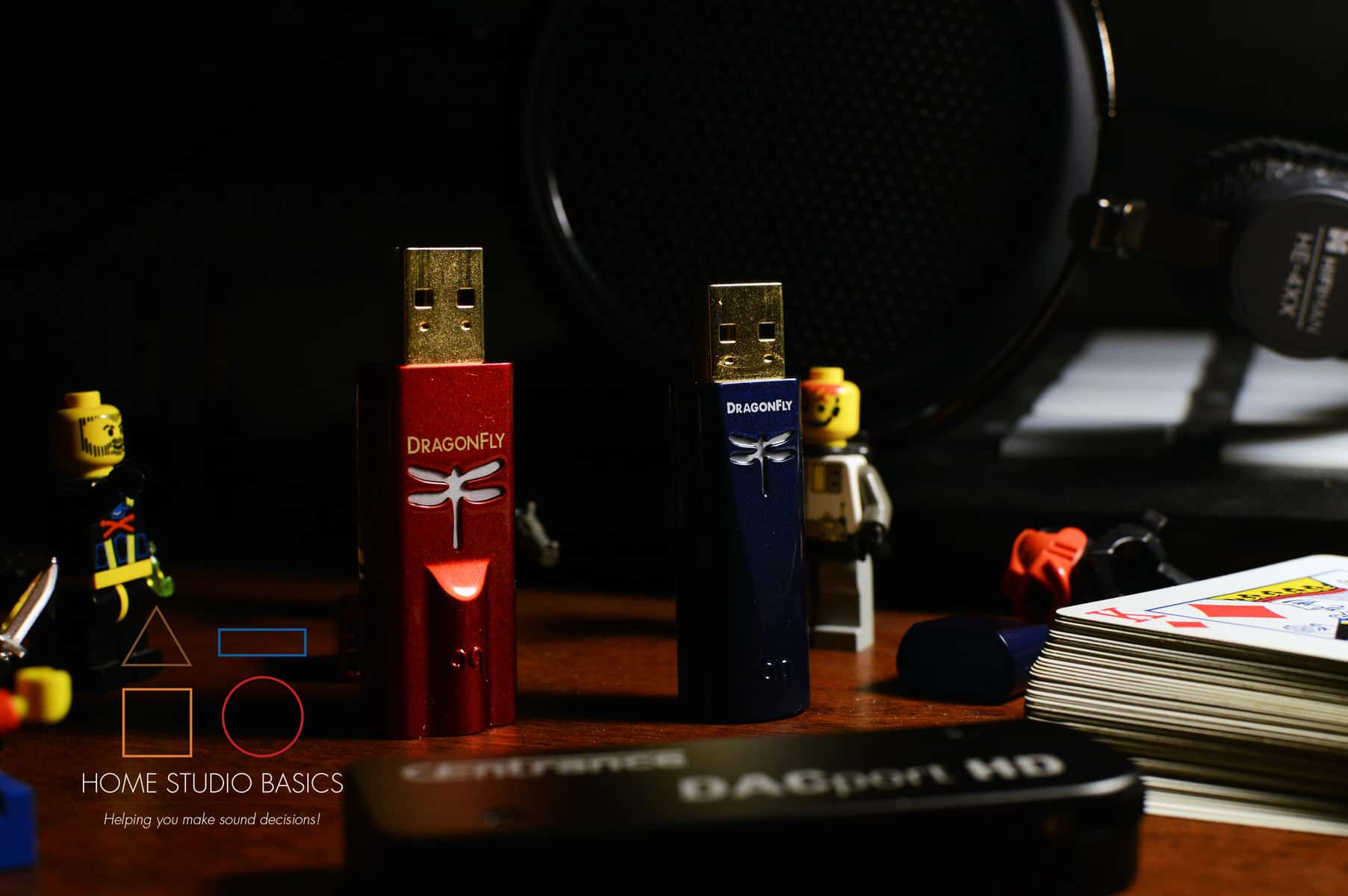 AudioQuest DragonFly Red vs. Cobalt vs. Chord Mojo