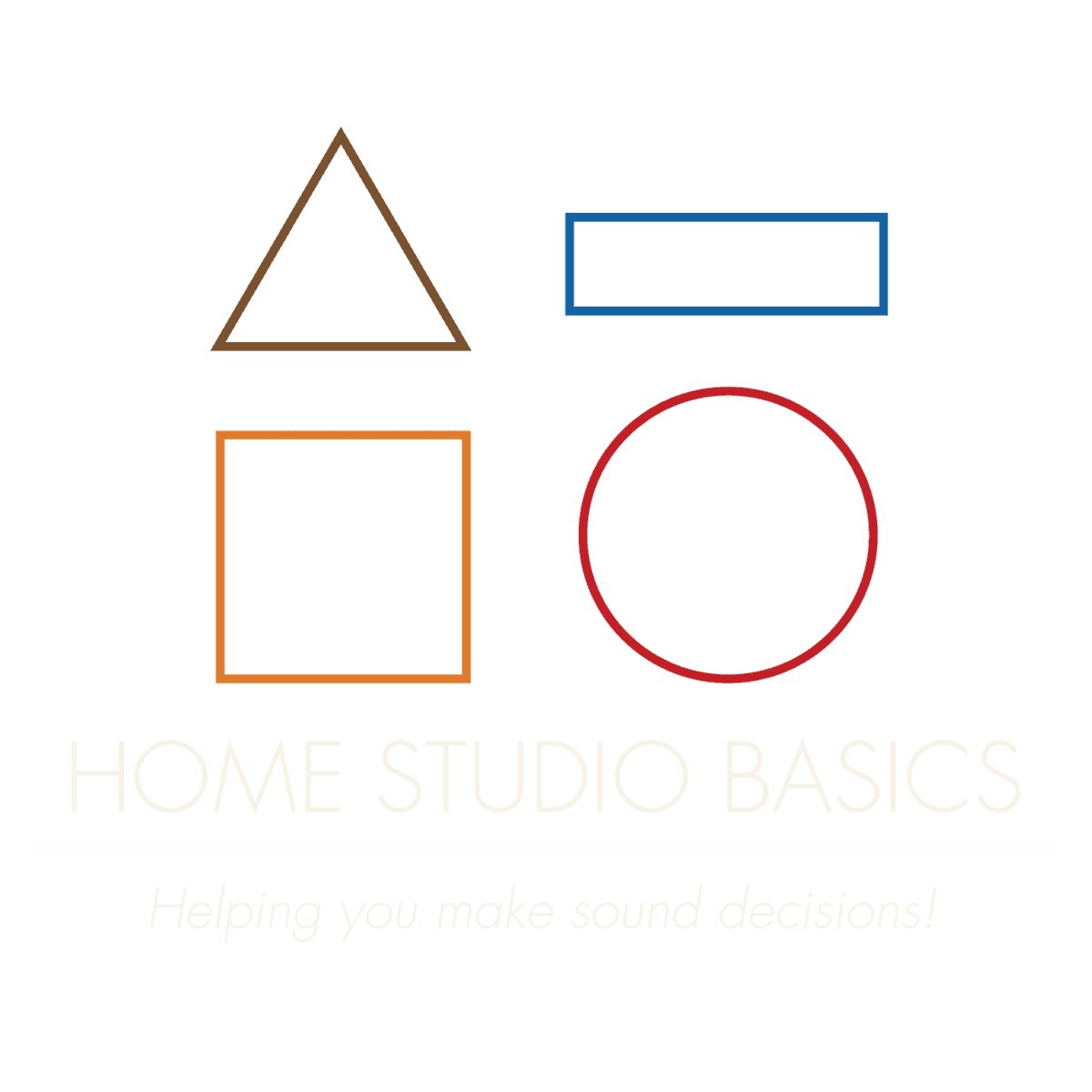 Home Studio Basics