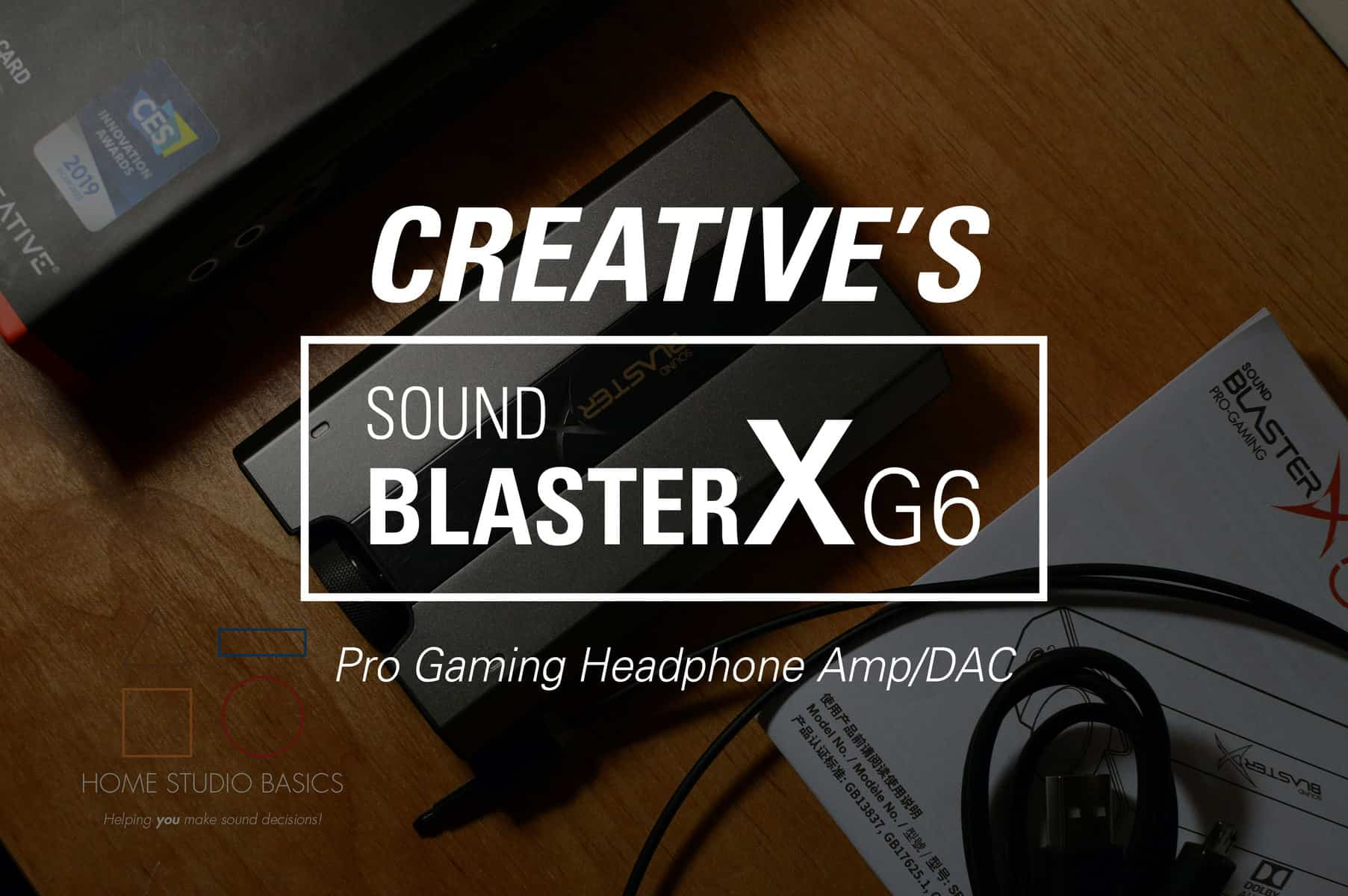 Creative SoundBlasterX G6 Amp/DAC Review