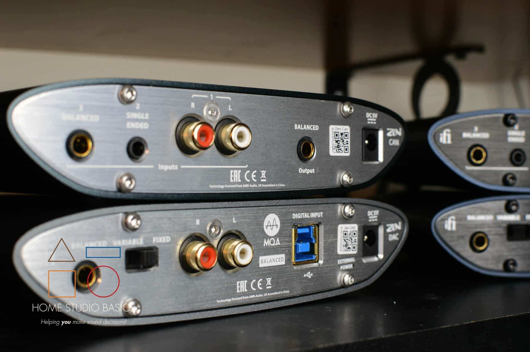 iFi Zen DAC/Amp + Zen CAN Amp (Stack) vs. iFi Zen CAN Signature 6XX Stack