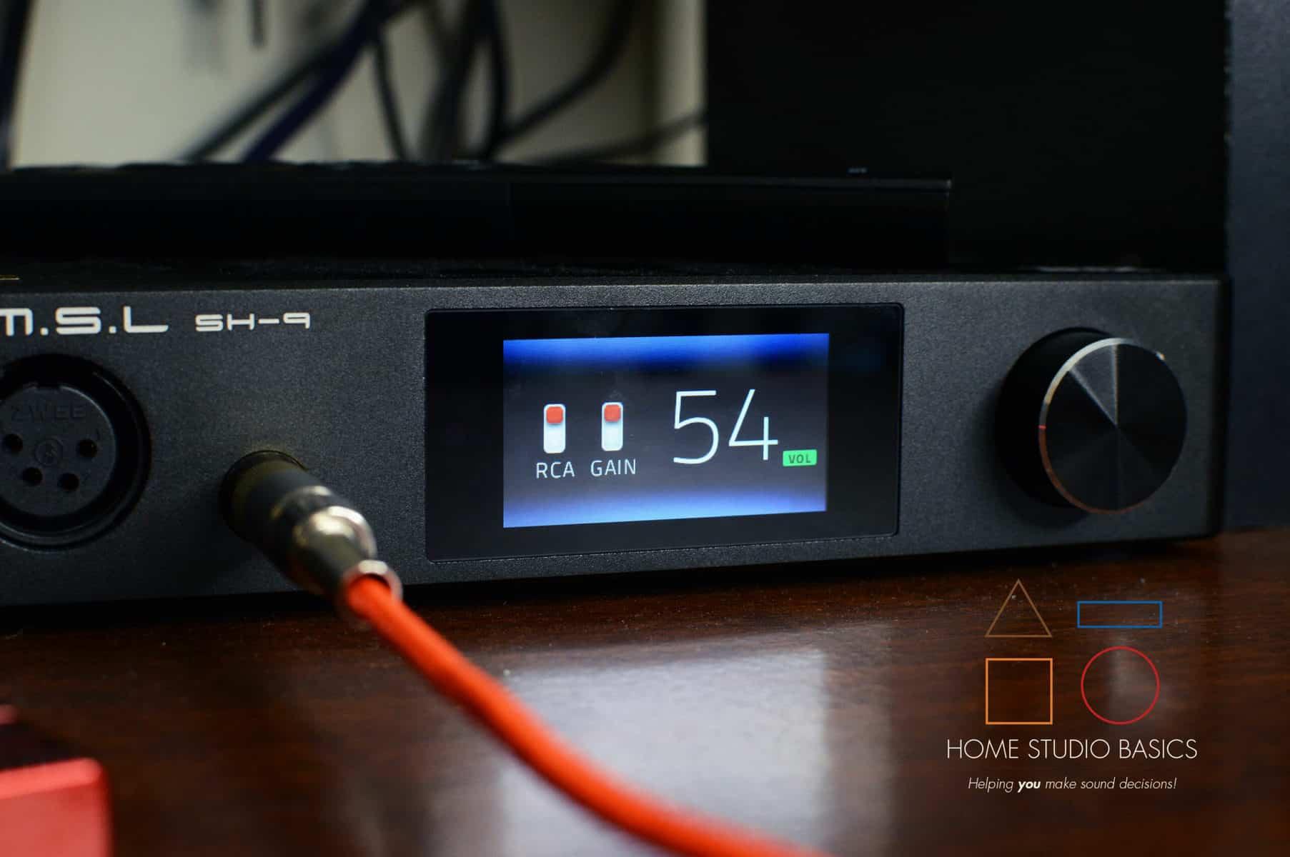 S.M.S.L SH-9 Headphone Amplifier Review