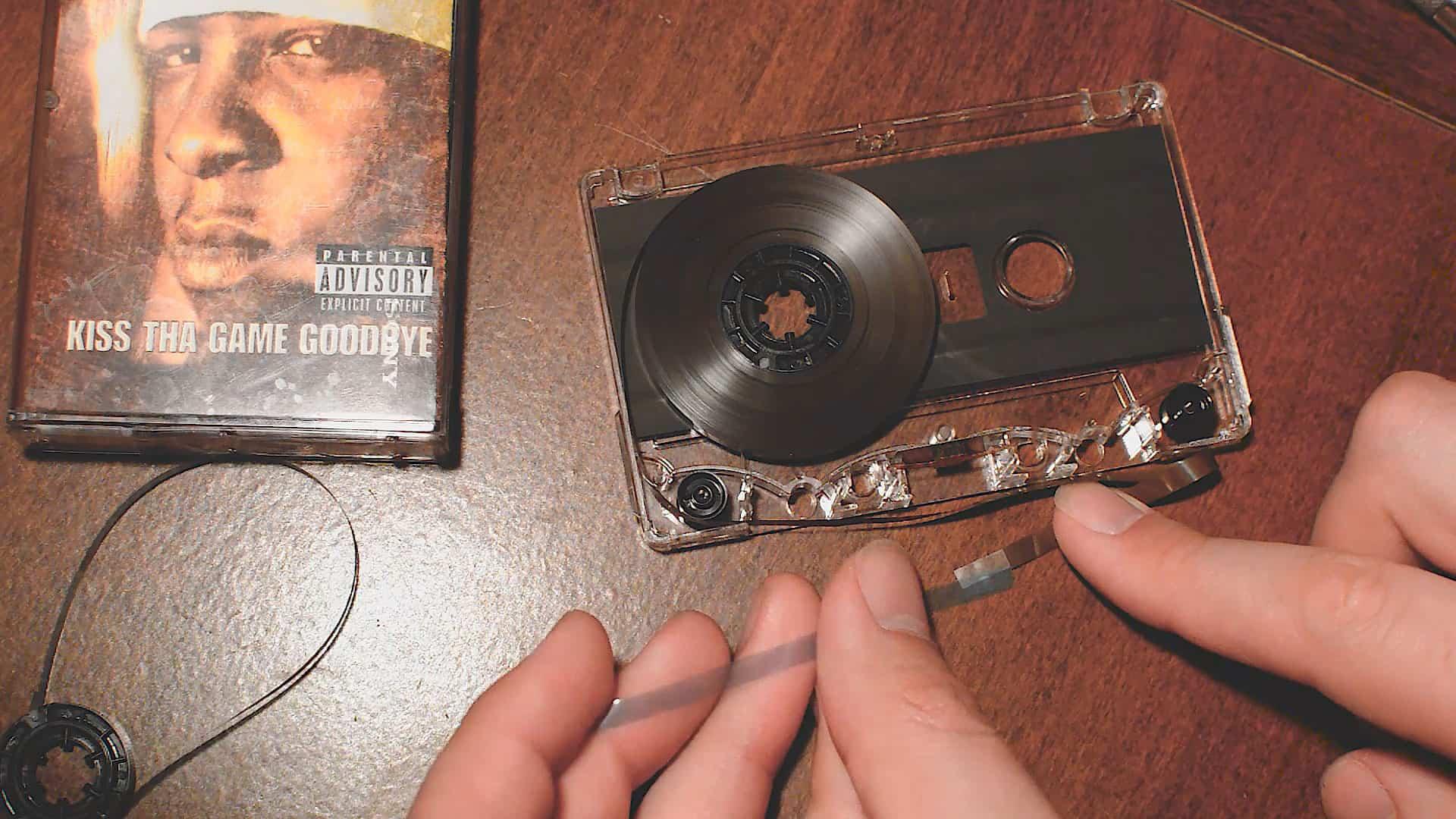 How To Repair Your Broken Cassette Tape